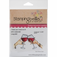 Stamping Bella Cling Rubber Stamp - Closeups Clink