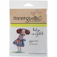 Stamping Bella Cling Rubber Stamp - Girly Girl Candy