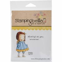 Stamping Bella Cling Rubber Stamp - Gracie