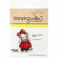 Stamping Bella Cling Rubber Stamp - Miles In Winter