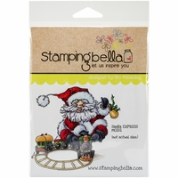 Stamping Bella Cling Rubber Stamp - Santa Express
