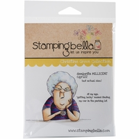 Stamping Bella Cling Rubber Stamp - Seniorita Millicent
