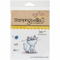 Stamping Bella Cling Rubber Stamp - Smarty Cat