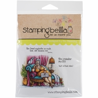 Stamping Bella Cling Rubber Stamp - The Reader