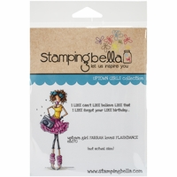 Stamping Bella Cling Rubber Stamp - Uptown Girl Farrah Loves Flashdance