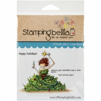 Stamping Bella Cling Rubber Stamp - Uptown Girl Savannah Has A Star