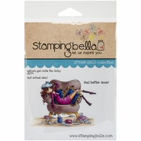 Stamping Bella Cling Rubber Stamp - Uptown Girl Sophia Is A Sicky