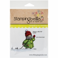 Stamping Bella Cling Rubber Stamp - Valerie W/Pup