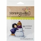 Stamping Bella Cling Rubber Stamp - Valerie W/Snowman