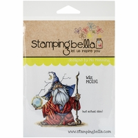 Stamping Bella Cling Rubber Stamp - Wiz