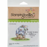 Stamping Bella Cling Stamp - Bunny Pile Stuffies