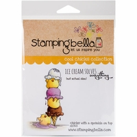 Stamping Bella Cling Stamp - Chicks With A Sprinkle On Top