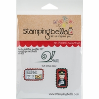 Stamping Bella Cling Stamp - Hello Mr Postie Envelope Accents