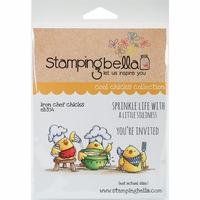 Stamping Bella Cling Stamp - Iron Chef Chicks