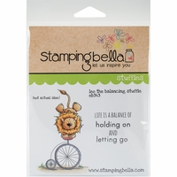 Stamping Bella Cling Stamp - Leo The Balancing Stuffie
