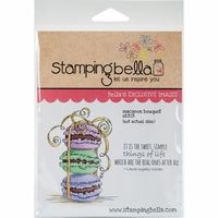Stamping Bella Cling Stamp - Macaron Bouquet
