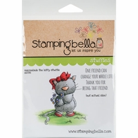 Stamping Bella Cling Stamp - Marmalade The Kitty Stuffie