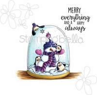 Stamping Bella Cling Stamp - Merry Everything