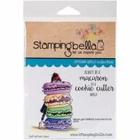 Stamping Bella Cling Stamp - Monique Loves Macarons