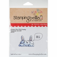 Stamping Bella Cling Stamp - Mr Postie's Edward The Edgy Bunny
