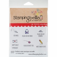 Stamping Bella Cling Stamp - Mr Postie's Mini Envelope Accents