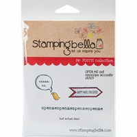 Stamping Bella Cling Stamp - Mr Postie's Open Me Envelope Accents