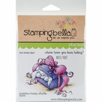 Stamping Bella Cling Stamp - Peekaboo Bunny Stuffie