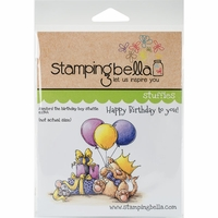Stamping Bella Cling Stamp - Sanford The Birthday Stuffie