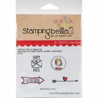 Stamping Bella Cling Stamp - Seal Of Approval Envelope Accents