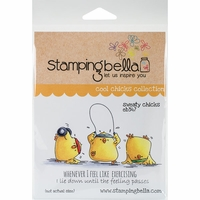 Stamping Bella Cling Stamp - Sweaty Chicks