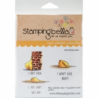 Stamping Bella Cling Stamp - The Chicks Who Couldn't Even