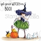 Stamping Bella Cling Stamp - Tiny Townie Willow The Witch