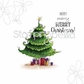 Stamping Bella Cling Stamp - Uptown Christmas Tree