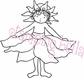 Stamping Bella Rubber Stamp - Sunflower Bittyloom