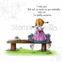 Stamping Bella Stamp - Tiny Townie Amanda Is Awesome