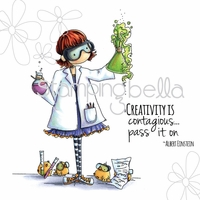Stamping Bella Stamp - Tiny Townie Sage The Scientist