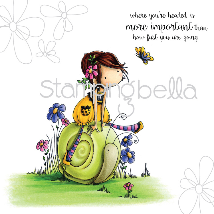 ... Stamping Bella ? Stamping Bella Stamp - Tiny Townie Sally & Her Snail