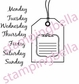 Stamping Bella Unmounted Rubber Stamp - Lifebook Tag You're It!