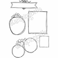 Stamping Bella Unmounted Rubber Stamp - You've Been Framed