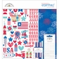 "Stars & Stripes Essentials Page Kit 12""x12"""