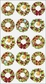 Sticko Christmas Stickers - Holiday Wreaths