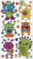 Sticko Halloween Stickers - Monster Bash