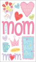 Sticko Seasonal Stickers - Happy Mother's Day