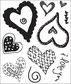 Sugar Rush Clear Bitsy Stamp - Heartthrob