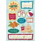 Summer Cardstock Stickers - Sunny Days