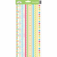 Sunkissed Cardstock Stickers - Fancy Frills