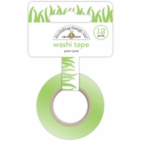 Sunkissed Washi Tape - Green Grass