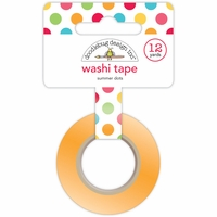 Sunkissed Washi Tape - Summer Dots
