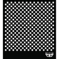 "Sunrise Sunset Prima Designer Stencil 6""x6"" - Checker"