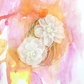 Sunset Paintable Vellum Flowers Dimday 2.75""